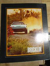 Bricklin brochure c1974 USA market