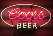 Vintage New Old Stock, Rare! 1960's early 70's Neon Coors Light Beer Sign