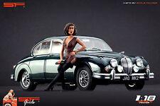 1/18 Waiting girl figurine VERY RARE !! for1:18 CMC Autoart Ferrari BBR Mercedes