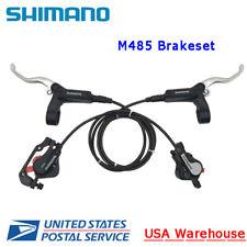 NEW Shimano DEORE BL BR-M485 2-Piston Disc Brake Set Front + Rear MTB