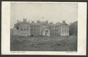 Postcard Hursley Park nr Winchester Hampshire early view by Taunt