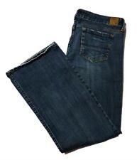 American Eagle Boyfriend Jeans Size 12 Women's Blue Stretch