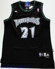 Swingman Basketball Jersey KEVIN GARNETT 21 Minnesota Timberwolves Black -  Sz M 7738df1c8