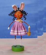 LORI MITCHELL ~ Curley Shirley ~ Collectible Easter Figurine ~ Free Shipping