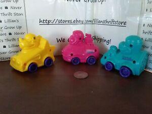 🌟Carl's Jr. KIDS MEAL 1996 - CJ Racers - LOT OF 3 CARS RACERS🌟