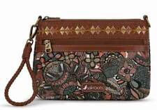 NWT Sakroots Campus Mini Sienna Spirit Desert Crossbody Clutch Wristlet 4 way