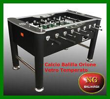 Calcio Balilla ORIONE - vetro temperato - CALCETTO  - BILIARDINO - NUOVO - ROBUS