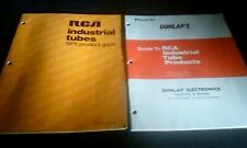 Two Rca Industrial Tubes Data Catalogs Guides Interchanges