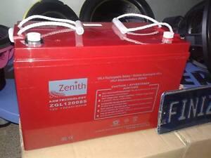 Batteria ZENITH ZGL120085 120 AH Ad alte Prestazioni spl audio auto camper