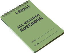 ARMY STYLE A6 WATERPROOF NOTEPAD