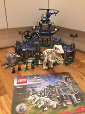 Lego Jurassic World Indominous Rex Breakout 75919 99% Complete Missing Dino Hand