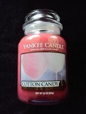 Yankee Candle COTTON CANDY 22 oz Large Jar Candle Rare HTF
