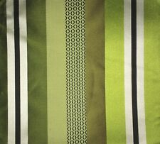 DESIGNERS GUILD Taillandier Stripe Chartreuse Green Black White Remnant New