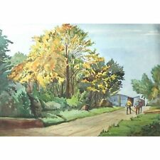 Original Redland Green Road Bristol Savages George Holloway Watercolour Painting