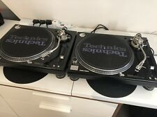 Pair of Mint Condition - Technics SL-1210 M5G MK5G Turntables Limited Edition UK