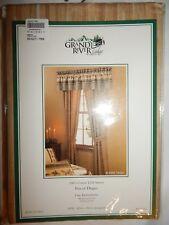 2 Curtain Panels Drapes Grand River Lodge 42x84 Alpine Trail Sateen Cabelas Tan