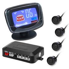 Auto KFZ PKW Einparkhilfe Rückfahrkamera Rückfahrwarner 4 Parksensoren Schwarz
