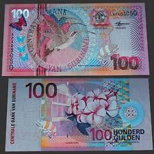 Surinam surinam 100 florines 2000 UNC. pick: 149 #