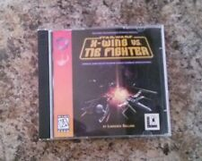 Star Wars: X-Wing vs. TIE Fighter (PC, 1997) WINOWS 95