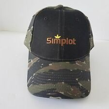 Simplot Camouflage Adjustable Ball Cap Trucker Farmer Hat Embroidered Logo Camo