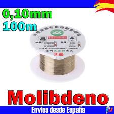 Cable Hilo de MOLIBDENO 100m 0,10mm separador pantalla LCD y Cristal Movil