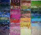 Lot of 100pcs BATIK quilt blocks. cotton fabric charm pack, 5