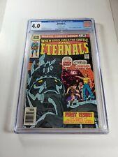 Eternals #1 30 Cent Variant CGC 4.0 1st Origin & Appearance Of The Eternals rare