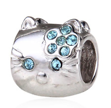 Authentic.925 Solid Sterling European Charm Fit PAN BRACELET HELLO KITTY