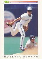 Roberto Alomar 1992 Classic Update #T4 Toronto Blue Jays baseball card