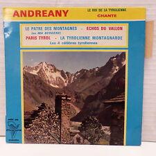 ANDREANY Le roi de la tyrolienne Le patre des montagnes 4454 ETS
