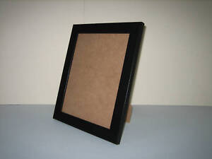 Black 7x9 Photo Picture Frame Free Standing