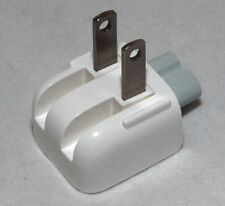 Genuine Apple Mac Ac Power Adapter US Wall Plug Duck Head, Original For USA