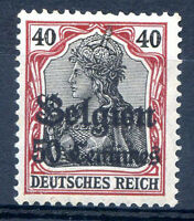 GERMANY - OCCUP IN BELGIUM Mi # 5 I MNH VF