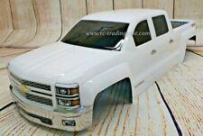 Custom Painted Body 2014 Silverado For 1/10-1/8 RC Monster Trucks T/E-Maxx/Revo