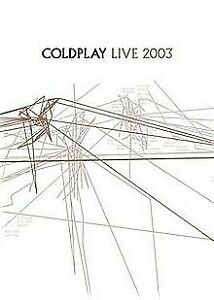 Cold Play - Live 2003 (DVD, 2006, R0 - all regions) - Used Good Condition -