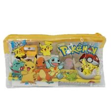 Set Papeterie Trousse Pokemon Pikachu 7 pièces
