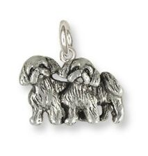 Shih Tzu Charm Handmade Silver Shih Tzu Jewelry Sz25-C