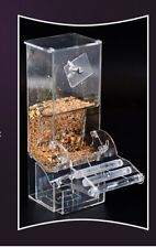 Clear Acrylic Auto Food Feeder/hopper for bird cage