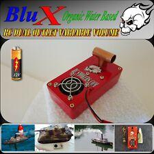 RC Model Smoke Generator 12V Duel Outlet BluX Water Based Organic Super Smoker