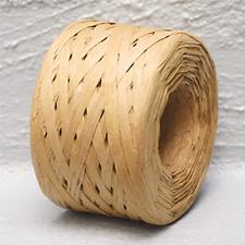 Paper Raffia Natural 4mm Wide 100 Metres