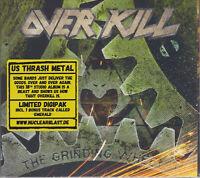 Overkill 2017 CD - The Grinding Wheel +1 (Ltd. Digi.) Testament/Megadeth Sealed