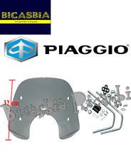 672306 PIAGGIO ORIGINAL PARE-BRISE FUMÉE AVEC ATTAQUES VESPA LX 50 125 150 2T 4T