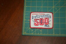 Seventy Fourth Indianapolis 500 May 27, 1990 Patch