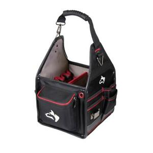 Husky Electrician Tool Bag 10 in. Removable Tool Wall 5-Feet Water-Resistant