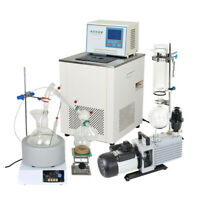 5L Short Path Distillation Kit Complete Turnkey Package w/ Vacuum Pump & Chiller