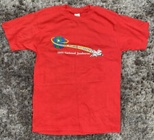 More details for vintage boy scouts of america t-shirt 1989 adventure begins with america's youth