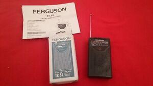 "FERGUSON RADIO, VINTAGE/ STYLE, MODEL""TR62"" 2x BAND, FM/AM. EX CONDITION."