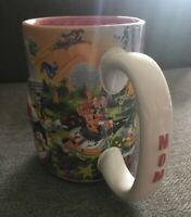 Walt Disney World Four Parks One World 3D MOM Theme Park Coffee Mug
