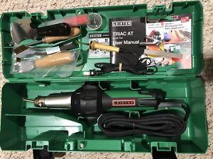 Leister Triac AT Digital Welder Flooring Tools