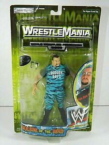 2000 JAKKS WWF Buh Buh Ray Bubba Dudley Boys action figure Wrestlemania  WWE New